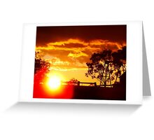 Parwan Sunset Greeting Card