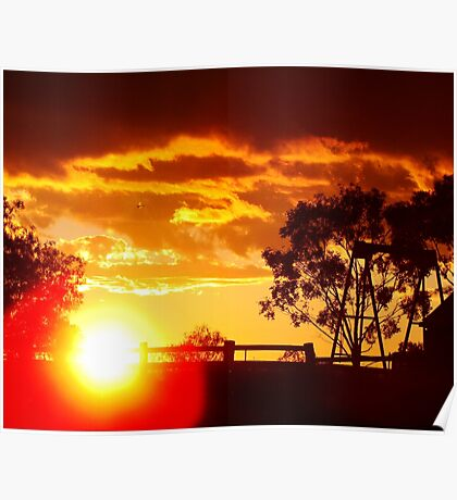 Parwan Sunset Poster