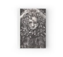 girl, invisible monsters Palahniuk, horror, face, dark, eyes Hardcover Journal