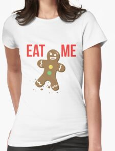 Eat Me Womens Fitted T-Shirt