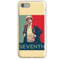 Seventh doctor - Fairey's style iPhone Case/Skin