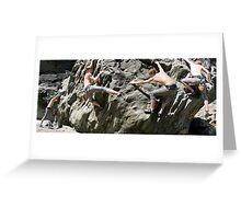 Billy Goes a Bouldering Greeting Card