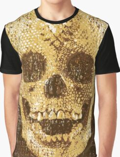 pixilated skull 006 by #RootCat Graphic T-Shirt