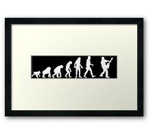 rocker evolution Framed Print