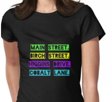 Jessica Jones Streets Womens Fitted T-Shirt
