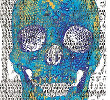 pixilated skull 007 by #RootCat by Grimm Land