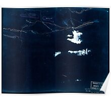 Civil War Maps 2220 Sketch of roads and streams in Highland County Va and Pendleton County W Va Inverted Poster