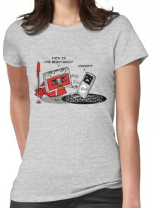 This is the eighties! Womens Fitted T-Shirt