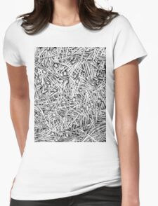 Cutlery Womens Fitted T-Shirt