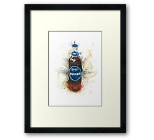 Doom Bar Beer Lager Bottle Framed Print