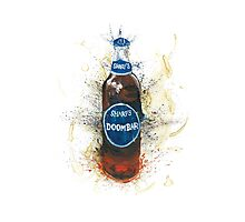 Doom Bar Beer Lager Bottle Photographic Print