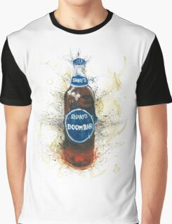 Doom Bar Beer Lager Bottle Graphic T-Shirt