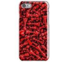 Bloody chess iPhone Case/Skin