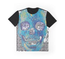 pixilated skull 008 by #RootCat Graphic T-Shirt