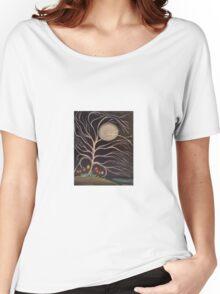 Moonlight Blossoms Women's Relaxed Fit T-Shirt