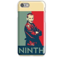 Ninth doctor - Fairey's style iPhone Case/Skin