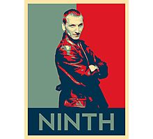 Ninth doctor - Fairey's style Photographic Print