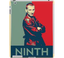 Ninth doctor - Fairey's style iPad Case/Skin