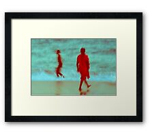 Where Souls Meet Framed Print