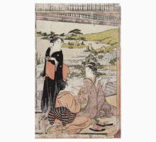 Archery - Eishi Hosoda - c1790 - woodcut Baby Tee