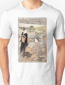 Archery - Eishi Hosoda - c1790 - woodcut Unisex T-Shirt
