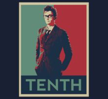 Tenth doctor - Fairey's style Kids Tee