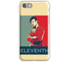 Eleventh doctor - Fairey's style iPhone Case/Skin