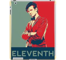 Eleventh doctor - Fairey's style iPad Case/Skin