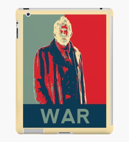 War doctor - Fairey's style iPad Case/Skin
