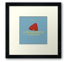 The Life Aquatic with Steve Zissou Beanie Poster Framed Print