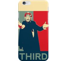 Third doctor - Fairey's style iPhone Case/Skin
