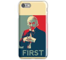 First doctor - Fairey's style iPhone Case/Skin