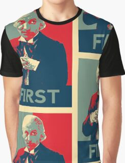 First doctor - Fairey's style Graphic T-Shirt