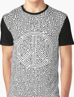Ultimate peace maze Graphic T-Shirt