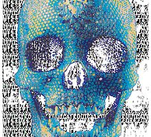 pixilated skull 009 by #RootCat by Grimm Land