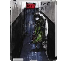 I Want Out iPad Case/Skin