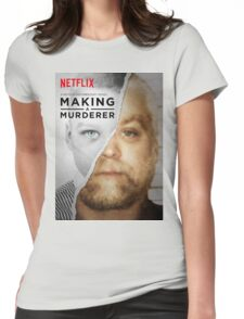 Making a Murderer Steven Avery Movie Womens Fitted T-Shirt