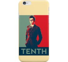 Tenth doctor - Fairey's style iPhone Case/Skin