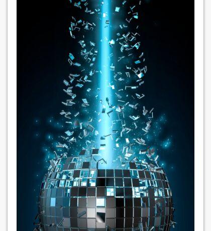 Disco explosion Sticker