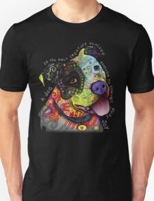 PITBULL LOVER- A DOG IS THE ONLY CREATURE EVOLED ENOUGH TO COMVOY PURE JOY T-Shirt