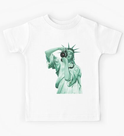 Say cheese for Liberty! Kids Tee
