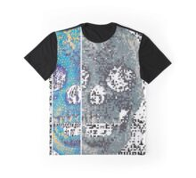 pixilated skull 010 by #RootCat Graphic T-Shirt