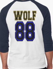 ♥♫WOLF 88-Splendiferous K-Pop EXO Clothes & Stickers♪♥ Men's Baseball ¾ T-Shirt