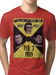 The Day the Music Died Tri-blend T-Shirt