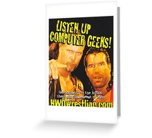 Geeks Greeting Card