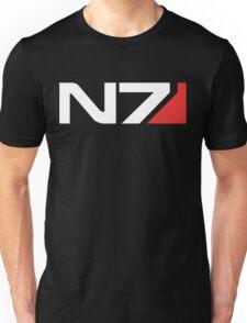 N7 Logo (White) Unisex T-Shirt