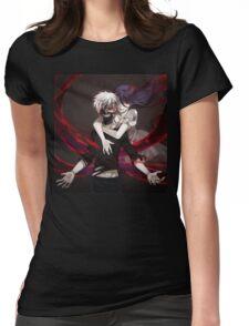 keneki tokyo ghoul lover Womens Fitted T-Shirt