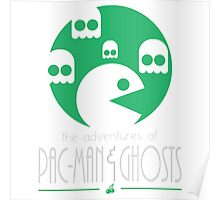 The adventures of Pac-Man and Ghosts Poster