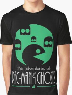 The adventures of Pac-Man and Ghosts Graphic T-Shirt