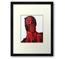 Daredevil Montage Framed Print